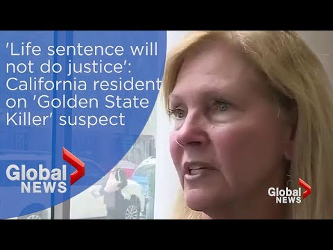 'His life sentence will not do justice': California resident on Golden State Killer suspect