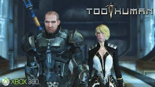 Too Human - Xbox 360 Gameplay (2008)