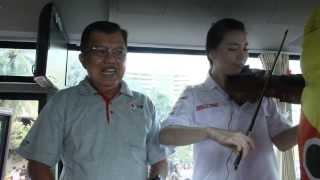 Cecillia Young & Jusuf Kalla Ketua Umum PMI