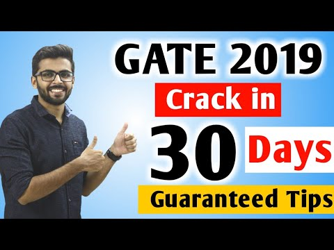 GATE 2019 Crack | How to Crack GATE Exam in 30 DAYS | Last Minute Tips and Strategy | Well Academy