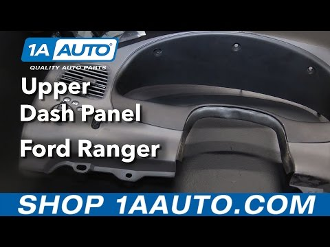 How To Replace Upper Dash Panel 98-12 Ford Ranger