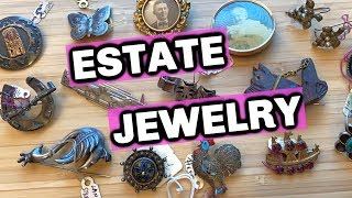 $85 Estate Jewelry Haul to Sell & Flip on EBay | Resell Jewelry on Ebay & Etsy