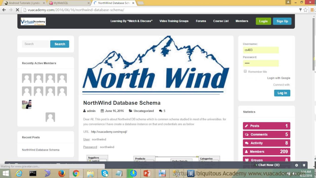 the northwind database tutorial This tutorial demonstrates the various sql scripts for mysql version, converted from the famous ms access northwind database.