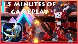 Apple Arcade ::  Fallen Knight Gameplay on iOS