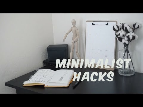 MINIMALIST LIFE HACKS // 10 TIPS & TRICKS