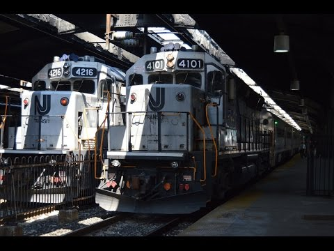100,000 View Special! Railfanning in Hoboken Terminal with 4101, Arrow IIIs, and More