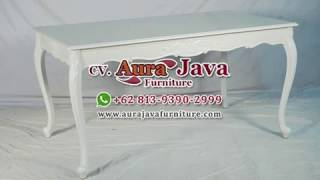 French Dining Table | Classic Dining Table | Jepara Furniture | Indonesia Furniture | Ajf | 2019