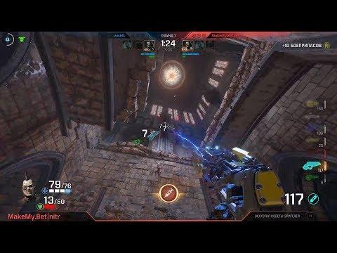 Quake Champions 1on1 ESL #11 (semi-final, final), 1920x1080