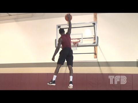 """50"""" VERTICAL LEAP! 6'0"""" Will Bunton AMAZING DUNKS 1st Dunk Session of 2017"""