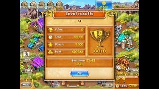farm Frenzy 3 only GOLD (level 54) playthrough Веселая ферма 3 (уровень 54) Золото