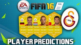 FIFA 16 - PLAYER RATING PREDICTIONS   GALATASARAY w/ SNEIJDER, BURAK, PODOLSKI & more!