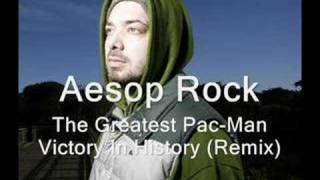 Watch Aesop Rock The Greatest Pacman Victory In History video