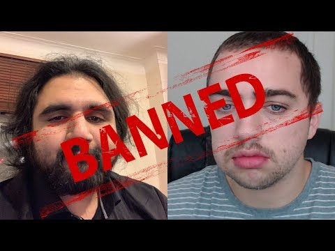 REACTING TO MIZKIF AND ESFAND GETTING BANNED - ft. Asmongold, Destiny, xQc, Pokimane and others!