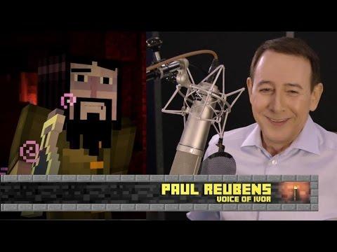 Minecraft: Story Mode - Paul Reubens (Pee-Wee Herman) Interview