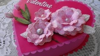 Intro to Heartfelt Creations Deluxe Flower Shaping Kit!!