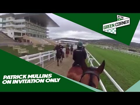 Patrick Mullins On The Gallops With Invitation Only