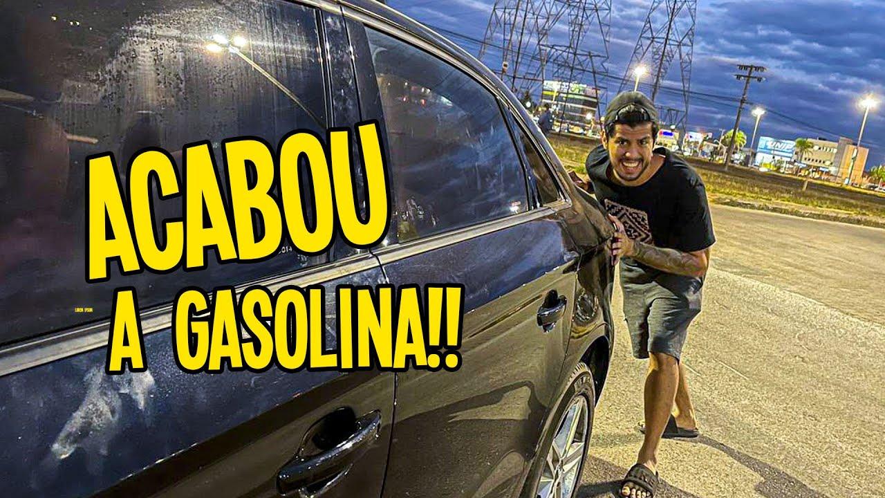 DIRIGINDO O CARRO ATE A GASOLINA ACABAR