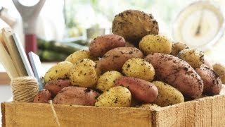 How to Prepare Baked Sweet Potatoes | P. Allen Smith Cooking Classics