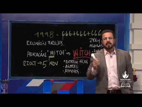 ENSEÑANZA HALLOWEEN - HURACÁN MITCH HONDURAS