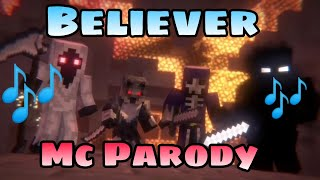 Download lagu Animation life 2 Minecraft Parody Believer