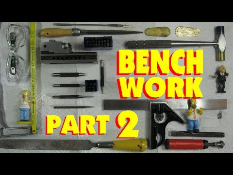 BENCH WORK 2. FILES 101, HOW METAL CUTTING FILES WORK & HOW TO USE THEM. MACHINE SHOP Marc L'Ecuyer