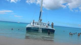 Barbados catamaran excursion royal carribean cruise
