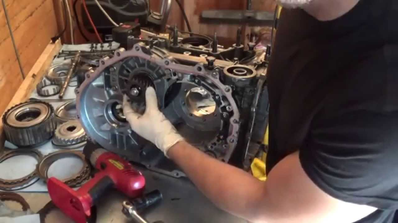 F4A42 Transmission Rebuild: Part 1  Teardown  YouTube