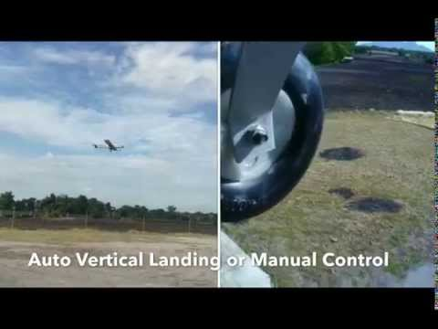 Falcon-V UAV - Vertical Take Off and Landing