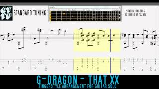 Video THAT XX (그 XX) G-DRAGON Sungha Jung Fingerstyle Guitar TABS download MP3, 3GP, MP4, WEBM, AVI, FLV Mei 2018