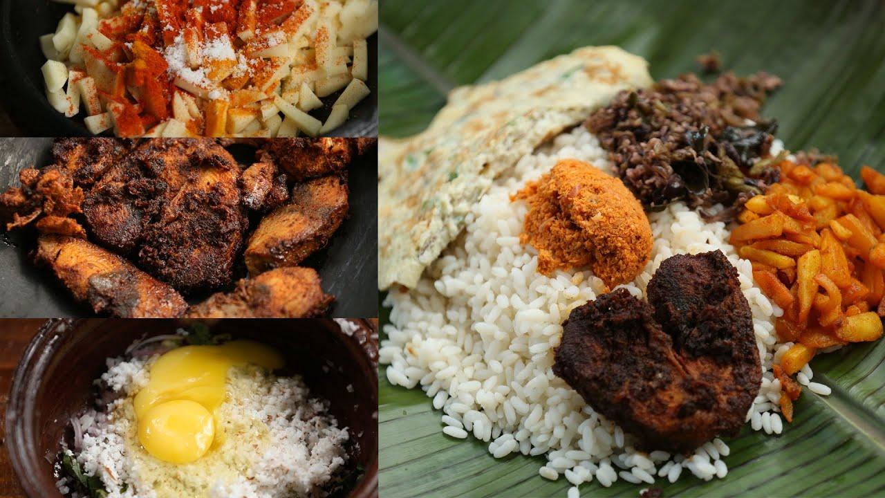 മലയാളികളുടെ സ്വന്തം പൊതിച്ചോറ് | Meal Wrapped In Banana Leaf - Pothichoru