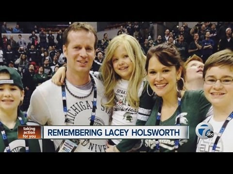 Michigan State University remembers Lacey Holsworth