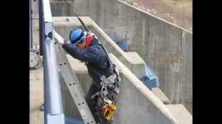 Repairing Pittock Dam