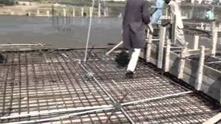 Concrete Roof Pouring