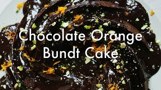 Chocolate Orange Bundt Cake from Simply Vibrant (VEGAN, GLUTEN-FREE)