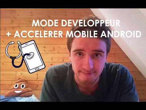 activer le mode developpeur et accelerer son mobile android youtube. Black Bedroom Furniture Sets. Home Design Ideas