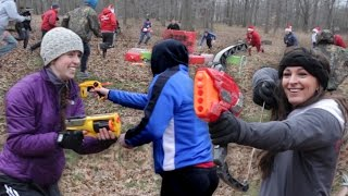 nerf hunger games 2014 a very merry hunger games