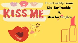 💋किस💋या मिस Punctuality Game Kiss💄for Double\u0026Miss for Single|Kitty Party Fun Game|PrachiGameIdeas