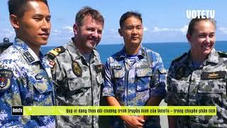 TIN KHẨN CẤP BÃI TƯ CHÍNH 23/8/2019: Lần đầu tiên Chiến hạm VN tập trận cùng hải quân Mỹ