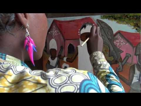 Princia - Artiste Peintre - (Pointe Noire - Congo)
