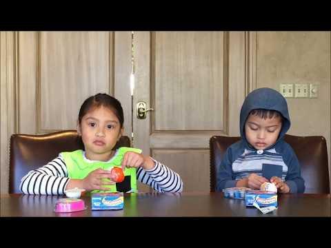 Amazing Putty & Kinder Egg Opening