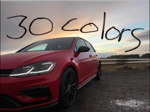 2018 volkswagen r for sale. exellent sale 2018 vw golf r 30 colors good news bad news intended volkswagen r for sale