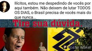 NANDO MOURA SE DESPEDE DOS INSCRITOS/FILHO DO MOURÃO AGORA ASSESSOR DO PRESIDENTE DO BB SÓ MAMATA