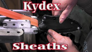 Kydex Sheaths - Vlog 14