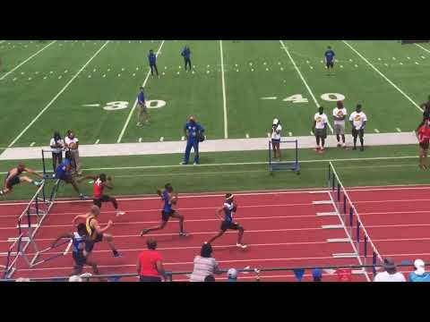 Gulf South Conference Championships - 110mh Final Winner Jonathan Ross- 13.86