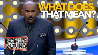 STEVE HARVEY LOST IN TRANSLATION! Steve Learns ALL The New Words & Phrases On Family Feud Africa