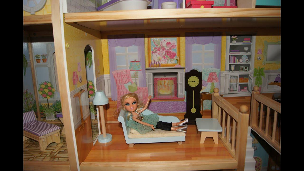 Miss Katy или Miss Polli чей домик для кукол с мебелью лутьше .
