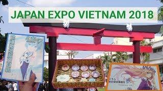 JAPAN EXPO VIỆT NAM 2018 | LỄ HỘI VĂN HÓA NHẬT BẢN | FESTIVAL JAPAN IN VIETNAM