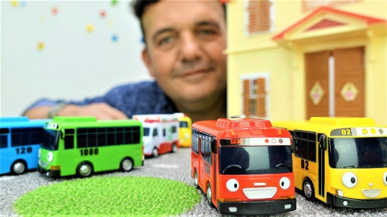 coches para nios juegos con coches autobuses tayo