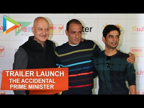 The Accidental Prime Minister | Official Trailer Launch | Anupam Kher | Akshaye Khanna | Part 2