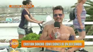 Christian Sancho se confesó en Nosotros a la mañana